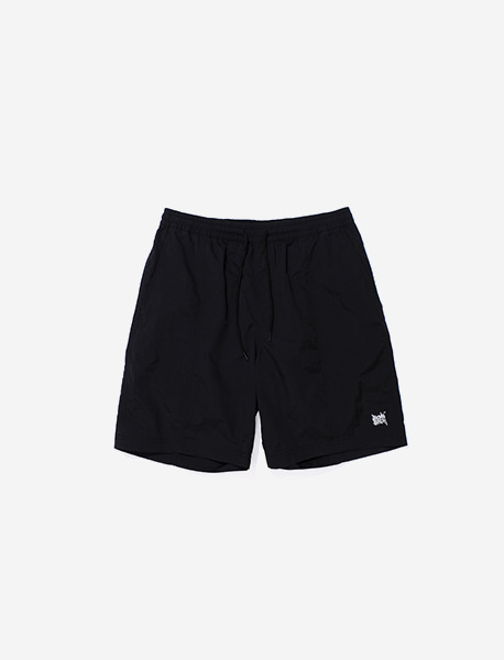 TAG RB SHORT PANTS - BLACK brownbreath
