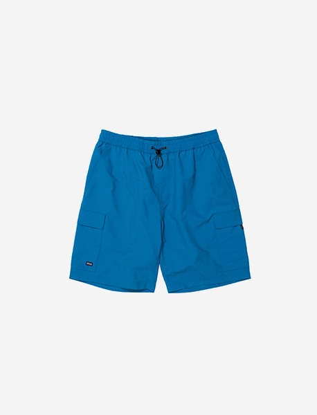 SPRD POCKET SHORTS - BLUE GREEN brownbreath