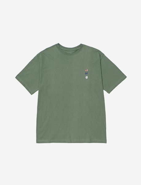 BXC CAMPING TEE - GREEN brownbreath