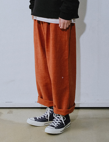NGRD STRING PANTS - ORANGE brownbreath