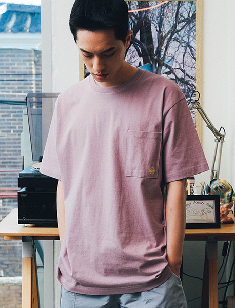 RAGE POCKET TEE - PURPLE brownbreath